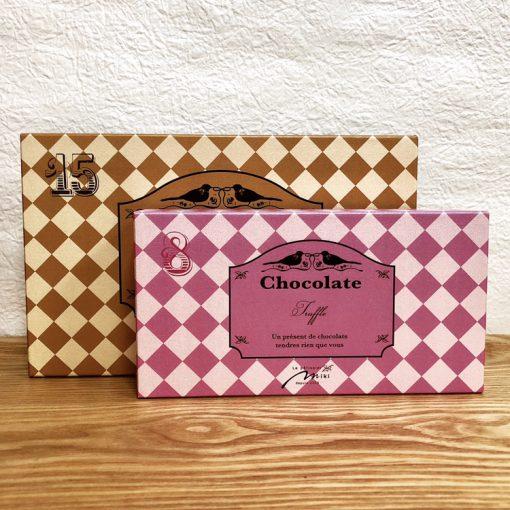 好評です♪チョコレート用のオリジナルパッケージ(✪v✪)