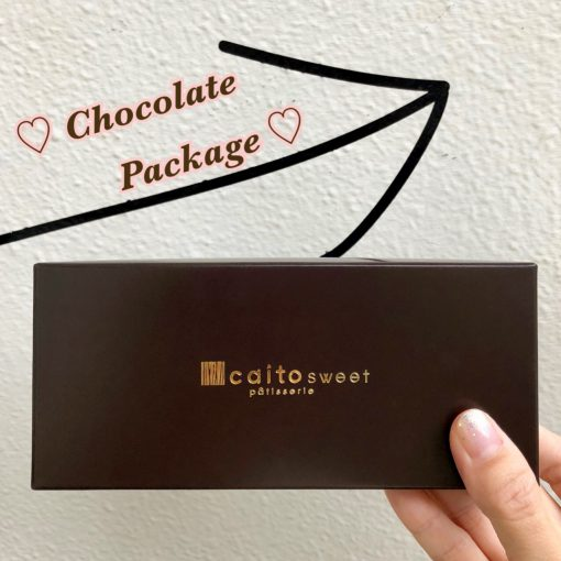 イチオシ◎チョコレート用のオリジナルパッケージ②(ღ✪v✪)