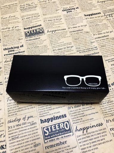 刮目!!メガネ型ルーペ用のオリジナルパッケージ(ර⍵ර)✧